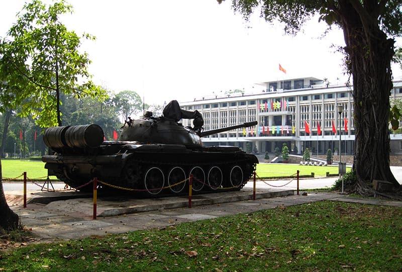 independence palace ho chi minh
