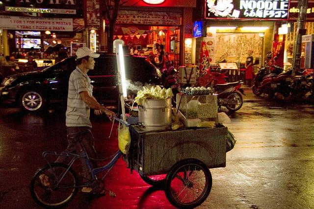 Eat Saigon street food safe - How to taste street food safely Saigon, HCMC